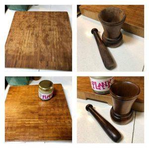Planki Wax Wooden Items