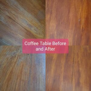 Coffee Table Before & After