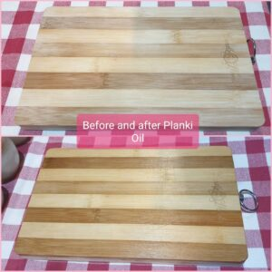 Cutting Board Before & After