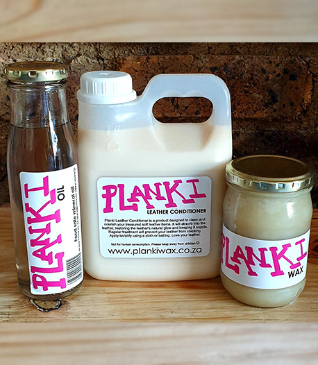 Planki Wax, Oil & Leather Conditioner Combo